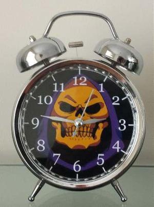 Reloj Despertador Estilo Vintage Comic He Man Skeletor