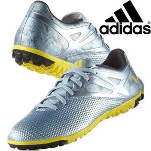 Zapatillas Adidas Messi 15.3 - Gris/amarillo/negro En Stock