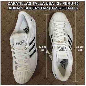 Zapatillas Adidas Superstar 2g Basketball, Talla 45