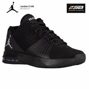 Zapatillas Jordan 5 Am - Hombre - Negro 100% Originales - Sb