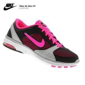 Zapatillas Nike Air Max Fit - Para Correr De Mujer - Rosado