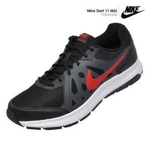 Zapatillas Nike Dart 11 Msl De Hombre Para Correr - Negro