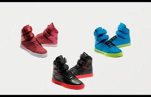 Zapatillas Supra Tk Society Footwear Tallas 36 Al 46 Nuevos