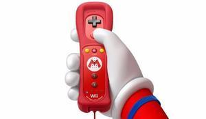 original] Nintendo Mario Remote Plus Nuevo, Sellado Rojo