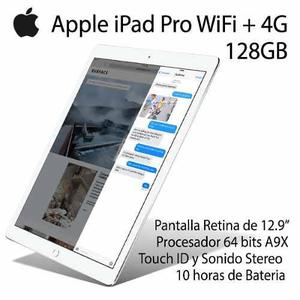 Apple Ipad Pro 12.9 Wifi 4g Lte 128gb Blanco, Caja Sellada !