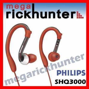 Audifono Deportivos Philips Shq3000 -100% Resis Agua Rojo