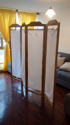 Compro biombo de madera posot class - Separador de madera ...