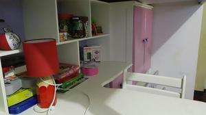 Vendo ropero color rosa para jovencita o ni a posot class for Cama ropero