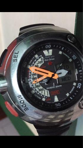 5185c5e564e Citizen acualand ecodray diver 200 metros un reloj muy raro