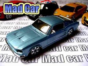 Mc Mad Car Bburago Ford Mustang Auto Clasico Coleccion 1/43