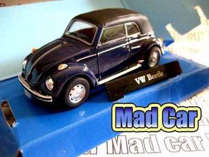 Mc Mad Car Cararama Vw Volkswagen Beetle Auto Clasico 1/43