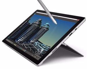 Microsoft Surface Pro 4 12.3 Core I5 256gb Ssd 8gb Ram Plata