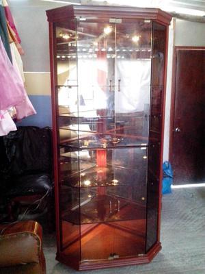 esquinero bar de vidrio alto 160 cms posot class