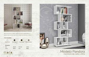 Mueble Moderno Hogar U Oficina Modelo Pandora Melamina