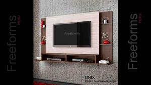 Moderno centro de tv hasta 70 posot class for Mueble rack