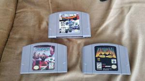 Nintendo 64 Con 3 Juegos En Buen Estado