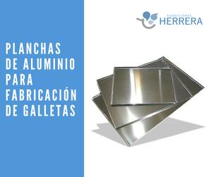 Planchas de Aluminio para la fabricación de galletas