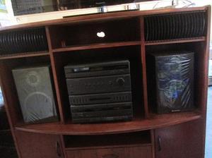 Mueble para tv y equipo de sonido posot class - Muebles para equipo de sonido ...