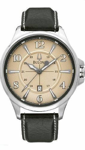 Reloj Bulova Original Con Dial Grande!