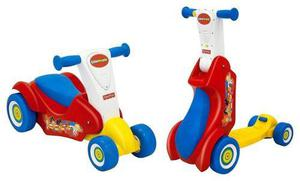 Caminador Y Scooter Musical 2en1 Fisher Price Little People