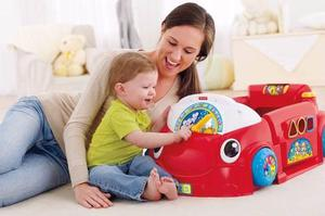 Carro Estacionario Con Juegos Musical Para Bebe Fisher Price