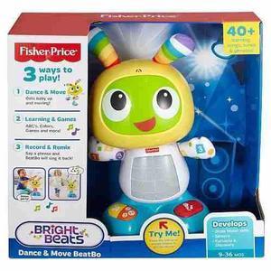 Fisher Price Robot Interactivo Bibot Juguetes Niños Musical
