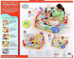 Mega Gimnasio Interactivo Musical Sonidos Luces Fisher Price