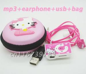 Mp3 Hello Kitty Con Accesorios
