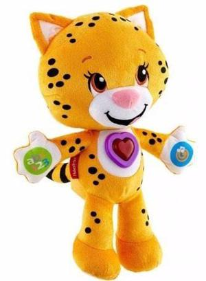 Peluche Kira Tigre Musical Y Didactico Fisher Price
