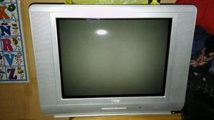 Televisor Convencional De 21 Pantalla Plana Perfecto Estado.
