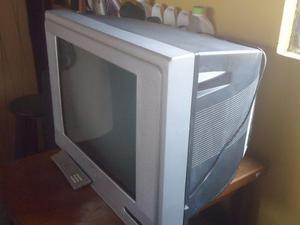Televisor Convencional Marca Recco De 21 Conservado
