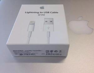 Cable 2 Metros Usb Lightning Iphone 5s 6 6s 7 Plus Original