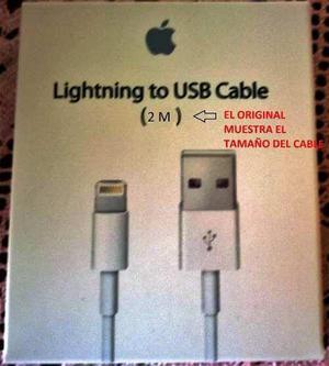 Cable 2 Metros Usb Lightning Iphone 5s/6 6s Plus-se Original