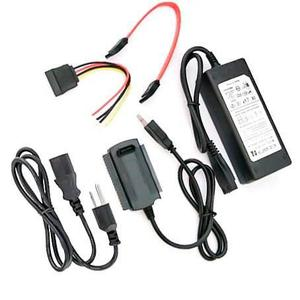 Cable Usb 2.0 Ide & Sata Para Disco Duro Externo Pc Laptop