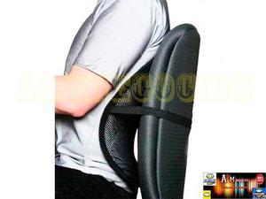 Gm espaldar auto silla oficina antiestres lumbar posot class - Cojin lumbar para silla de oficina ...
