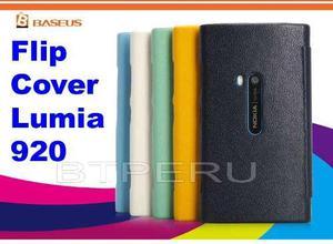 Funda Estuche Flip Cover Para Nokia Lumia 920 Protector