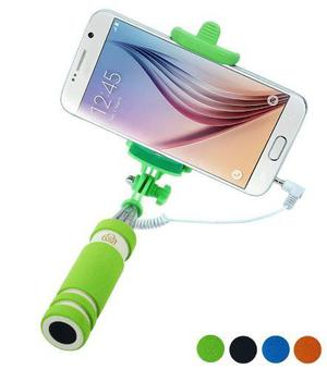 Mini Palo Selfie Portátil Para Teléfono Móvil Con Cable