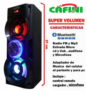 Parlante portatil Bluetooth con,radio Fm, Karaoke,Mp3