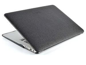 Protector De Cuero Macbook Marron Negro Mac Air 11 Pro 13 15