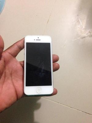 Solo Hoy Y Mañana iPhone 5 16G Blanco 4G Lte Libre de