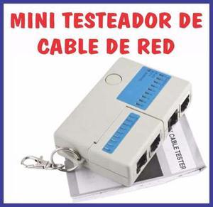 Tester Probador De Cable Lan Red Rj45 Y Rj11 - Chorrillos