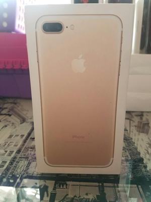 Vendo iPhone 7 Plus 32gb Gold, Equipo Nuevo Traído de Eeuu