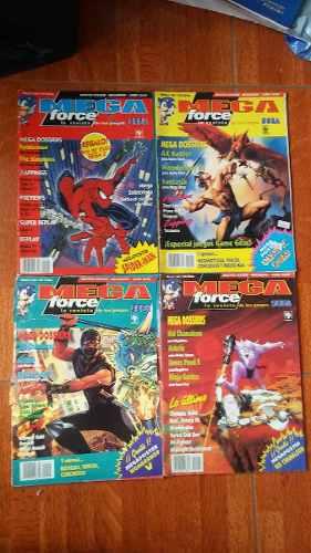 Antiguas Revistas De Video Juegos Sega