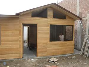 Casa prefabricada de madera ubicaci n lima posot class - Cocheras de madera prefabricadas ...