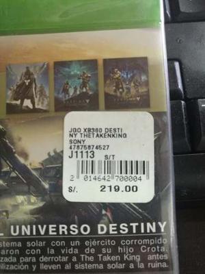 Destiny The Taken King Xbox One