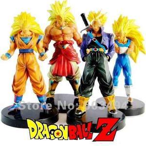 Dragon Ball Z - 4 Muñecos Coleccionables!!!
