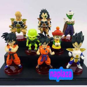 Dragon Ball Z - 8 Muñecos Coleccionables!!!