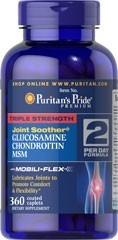 Glucosamina 1500mg + Chondroitin +msm X 360 Caps 2 Por Dia