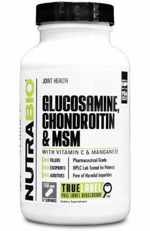 Glucosamina, Condroitina Y Msm 150