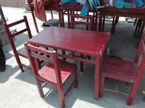 Vendo juego de mesas y sillas posot class for Juego de mesa y sillas